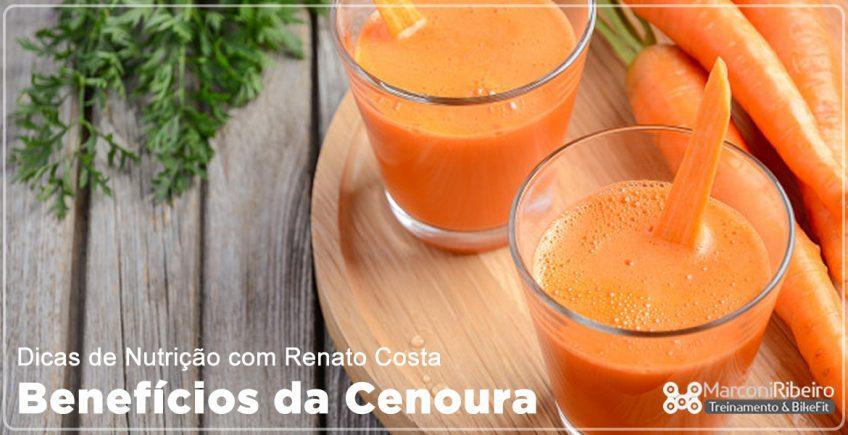 Dicas de Nutrição com Renato Costa – Benefícios da Cenoura