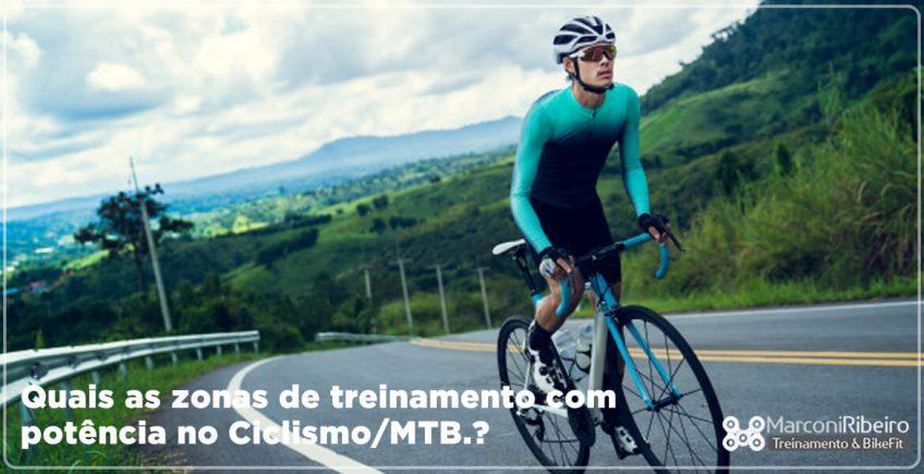 Quais as Zonas de Treinamento com Potência no Ciclismo/MTB?