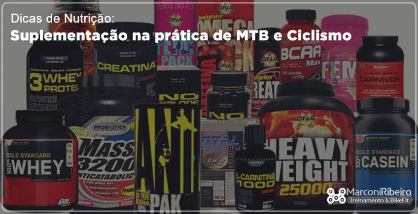 Dicas de Nutrição com Renato Costa – Suplementação na Prática de MTB e Ciclismo