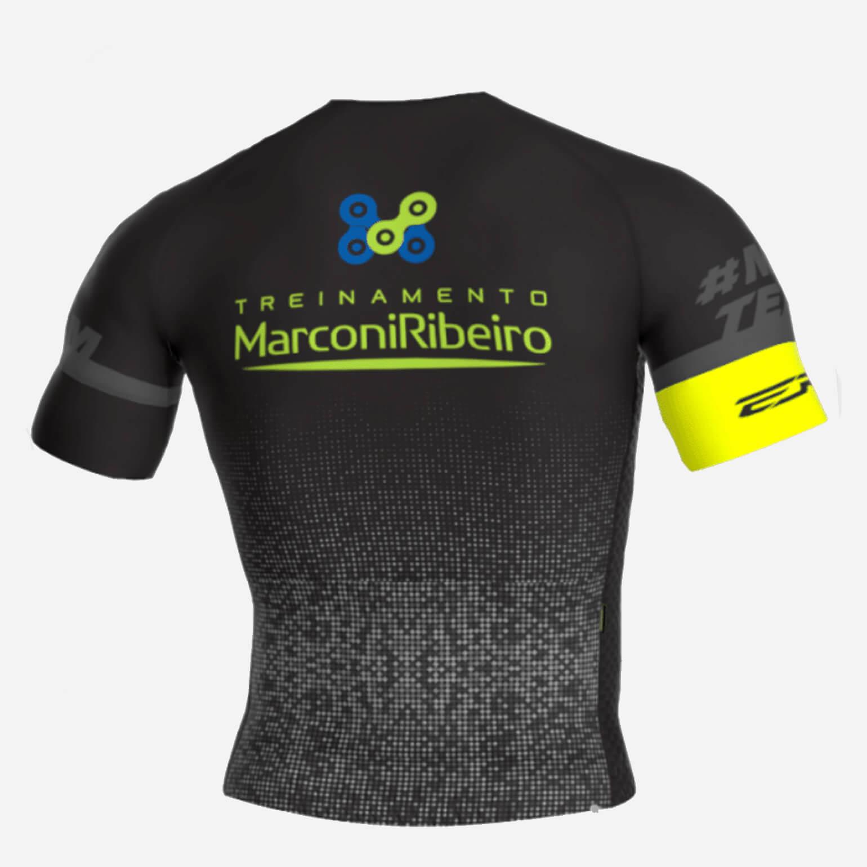 CAMISA MARCONI RIBEIRO SPORTS PRETA