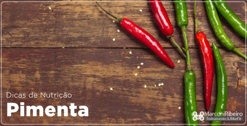 Dica de Nutrição com Renato Costa – Pimenta