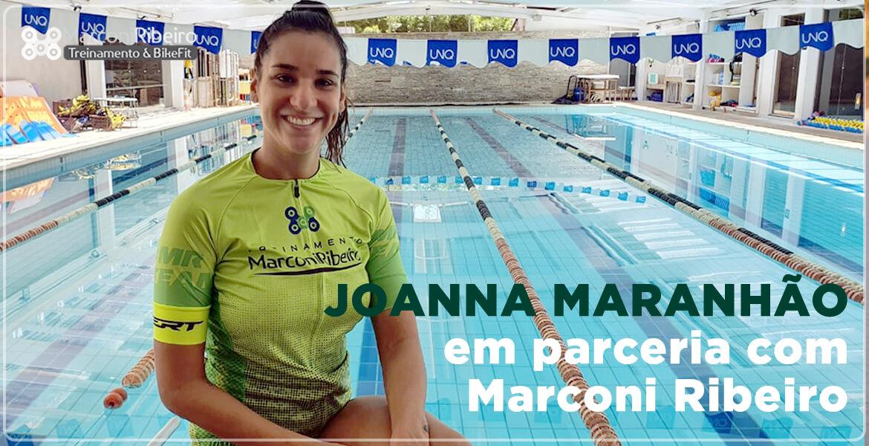 Joanna Maranhão em parceria com Marconi Ribeiro