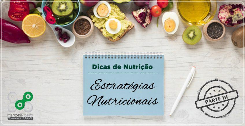 Estratégias Nutricionais – Momentos Pré Prova